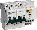 DEKraft ДИФ-101 15031DEK Автоматический выключатель дифференциального тока четырехполюсный 25А (тип AC, 4.5 кА)