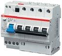 ABB DS204 2CSR274101R1254 Автоматический выключатель дифференциального тока четырехполюсный 25A 30мА (тип A)